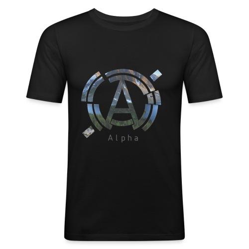 AlphaOfficial Logo T-Shirt - Men's Slim Fit T-Shirt