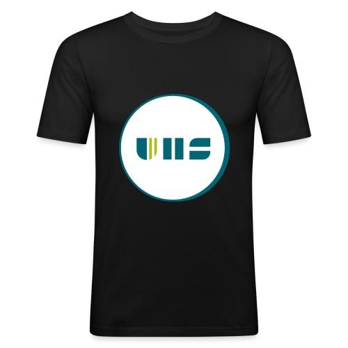 UHS Logo - Männer Slim Fit T-Shirt