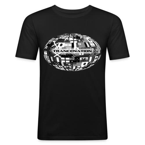 trancenation - Slim Fit T-shirt herr