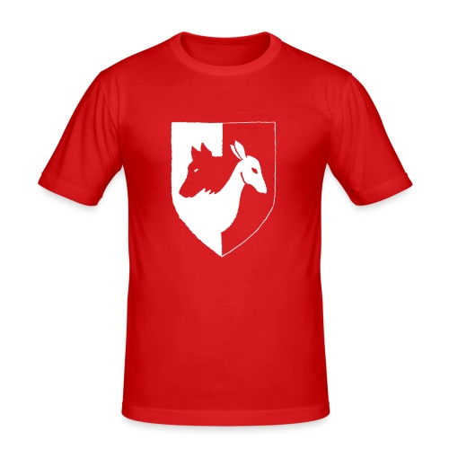 Pyhävuori pelkkä häälogo - Miesten tyköistuva t-paita