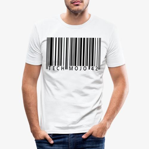 TM graphic Barcode Answer to the universe - Men's Slim Fit T-Shirt