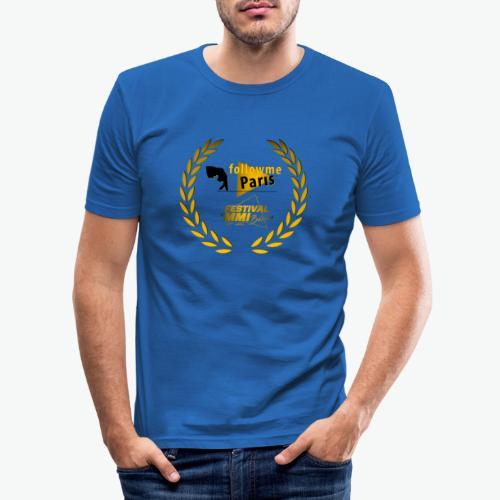 Followme Paris lauréat Festival MMI Béziers - T-shirt près du corps Homme