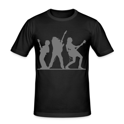 bass & gitarre - Männer Slim Fit T-Shirt