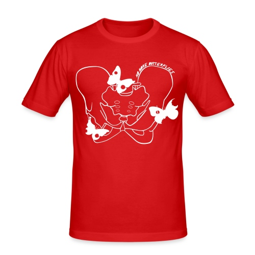 No more butterflies - Männer Slim Fit T-Shirt