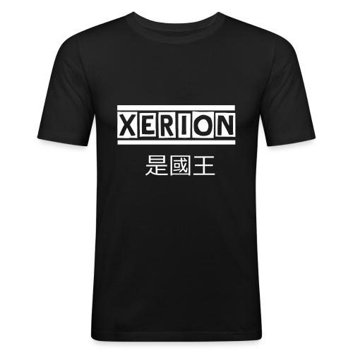 XERION [WHITE] - Männer Slim Fit T-Shirt