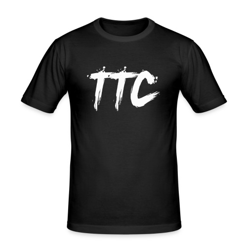 TimeCrust Merch Boi - Men's Slim Fit T-Shirt