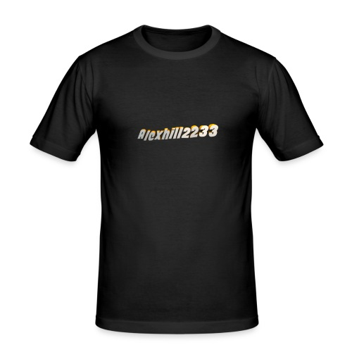 Alexhill2233 Logo - Men's Slim Fit T-Shirt
