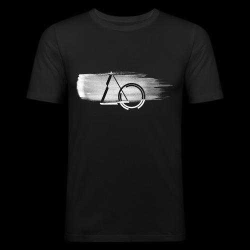 Large shape Paint - Men's Slim Fit T-Shirt