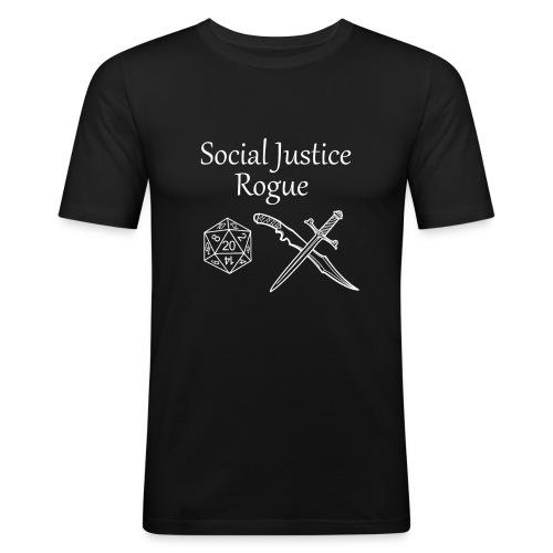 Social Justice Rogue - Men's Slim Fit T-Shirt