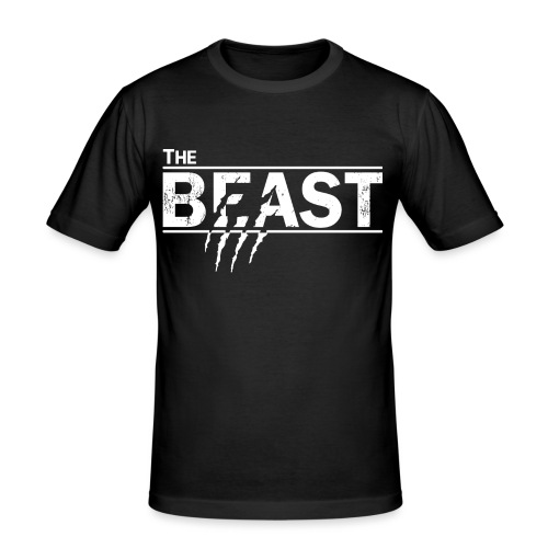 The beauty and the beast - Männer Slim Fit T-Shirt