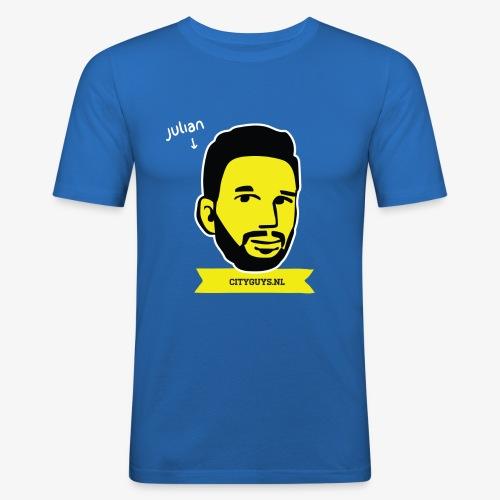 CITYGUYS SHIRT JULIAN - Mannen slim fit T-shirt