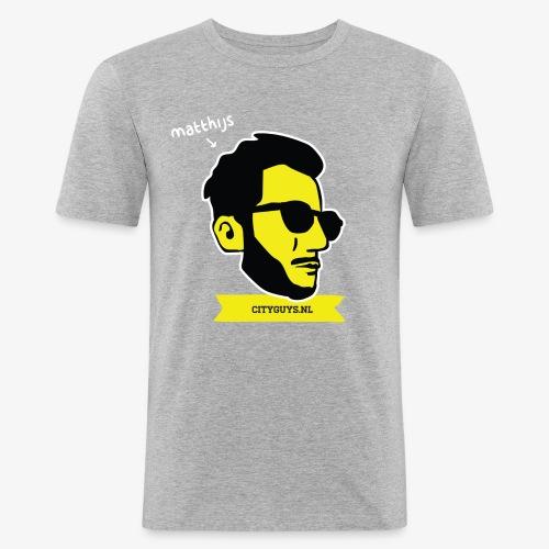 CITYGUYS SHIRT MATTHIJS - Mannen slim fit T-shirt