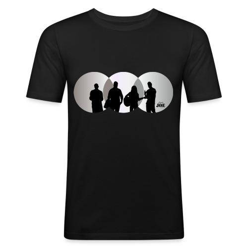 Motiv Cheerio Joe light grey - Männer Slim Fit T-Shirt