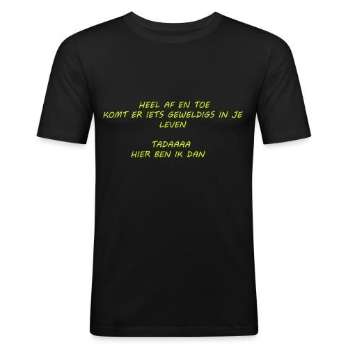 GEWELDIG 01 - T-shirt près du corps Homme
