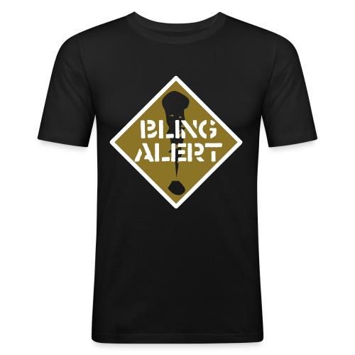 bling alert ol - Men's Slim Fit T-Shirt