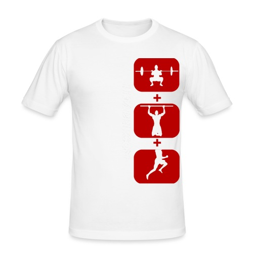 Threee png - T-shirt près du corps Homme