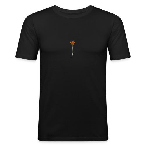 flower - Männer Slim Fit T-Shirt