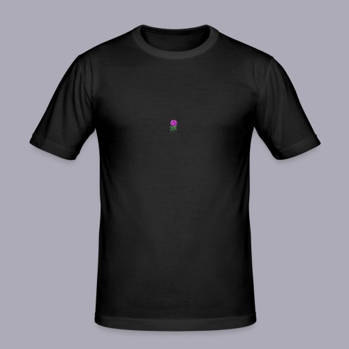 Landryn Design - Pink rose - Men's Slim Fit T-Shirt