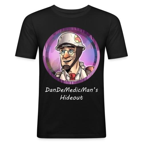 Hideout Merch - Men's Slim Fit T-Shirt