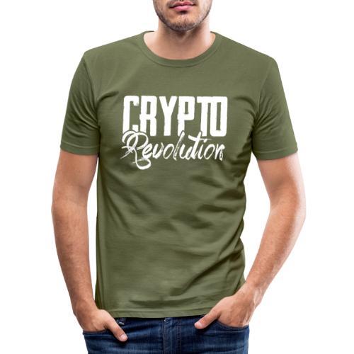 Crypto Revolution - Men's Slim Fit T-Shirt