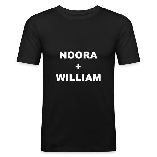 Noora och William - Slim Fit T-shirt herr