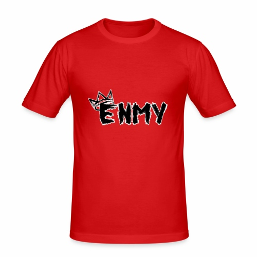 Enmy Grey Sweatshirt - Men's Slim Fit T-Shirt