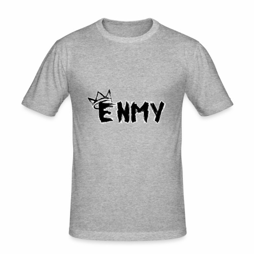 Enmy Grey Sweatshirt - Men's Slim Fit T-Shirt