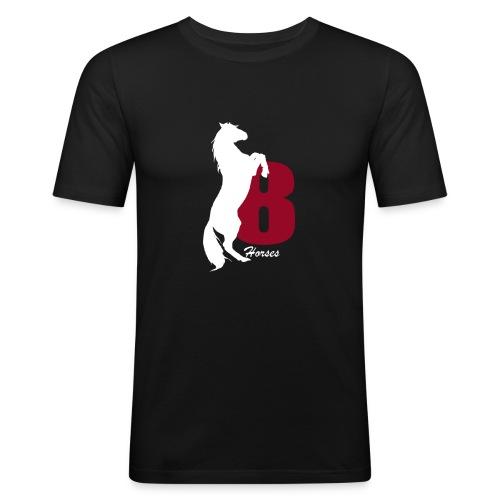 White_18Horses - Slim Fit T-shirt herr