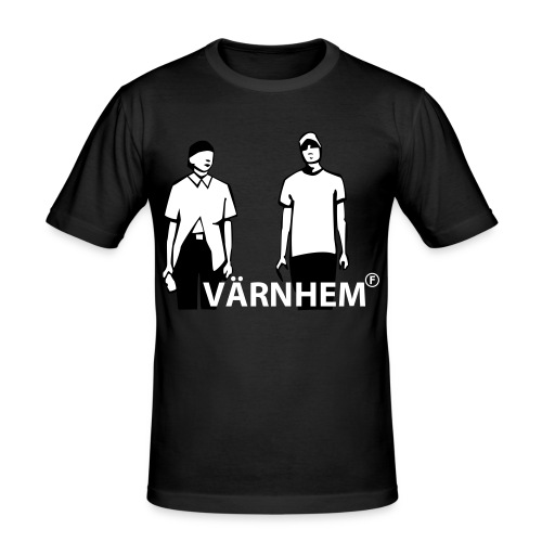 no name - Slim Fit T-shirt herr