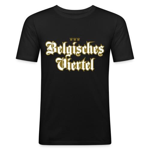 Belgisches Viertel (kölsches Veedel, Karneval) - Männer Slim Fit T-Shirt