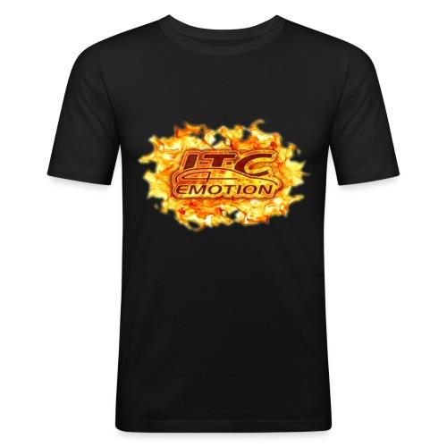 IBIZA TUNING CLUB FIRE - Maglietta aderente da uomo