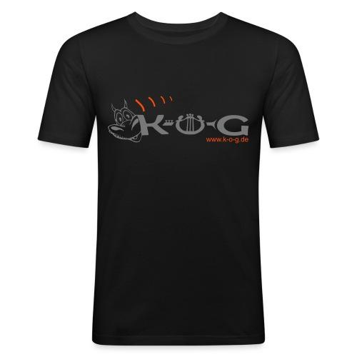 kog logo drachekog 2010 eps - Männer Slim Fit T-Shirt