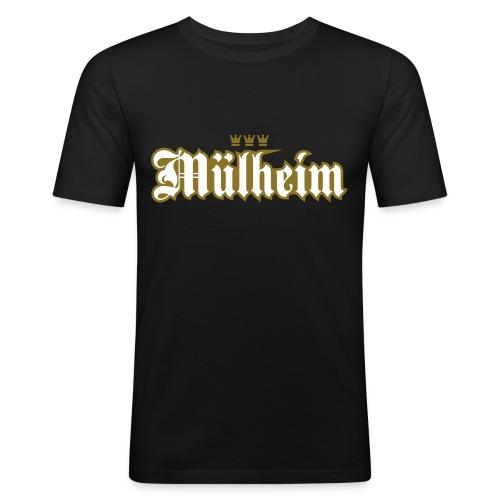 Mülheim (kölsches Veedel) - Männer Slim Fit T-Shirt