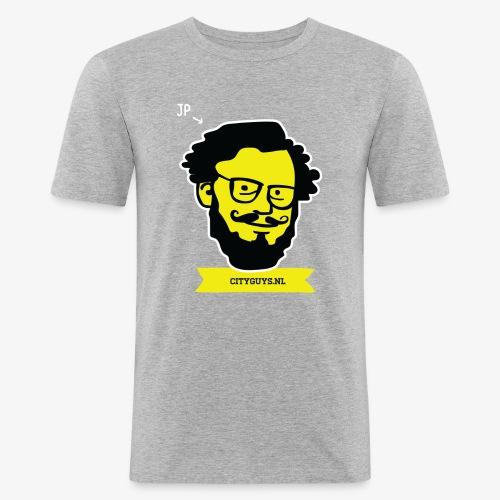 CITYGUYS SHIRT JP - Mannen slim fit T-shirt