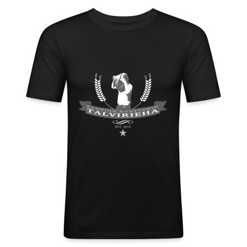 Talvirieha - Miesten tyköistuva t-paita