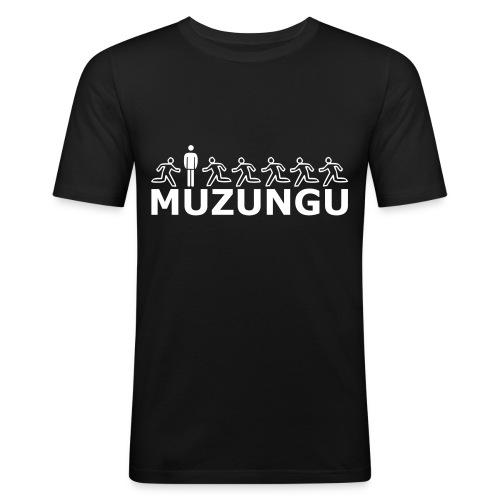 MUZUNGU - Girlie - Männer Slim Fit T-Shirt