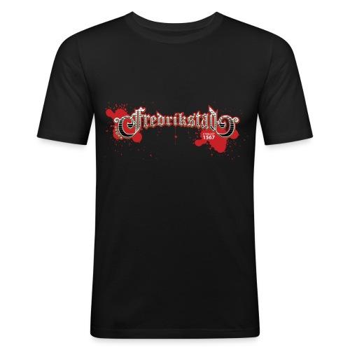 fredrikstad1567 - Slim Fit T-skjorte for menn