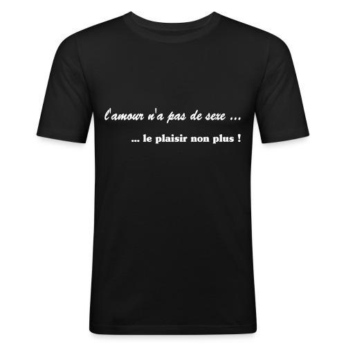 lamour na pas de sexe - T-shirt près du corps Homme