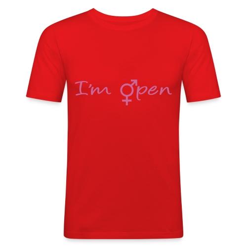 im open - T-shirt près du corps Homme