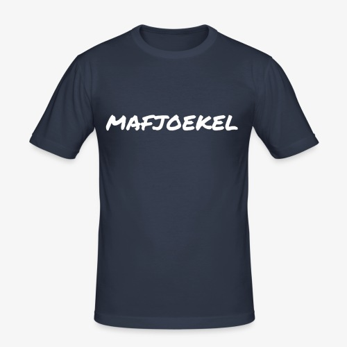 mafjoekel - Mannen slim fit T-shirt