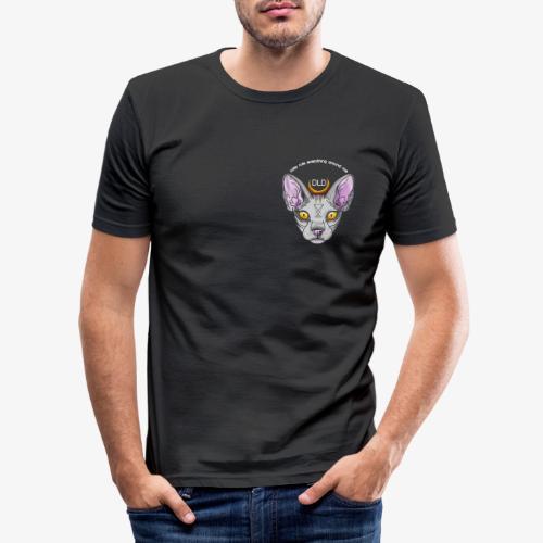 DLD CREAM - Männer Slim Fit T-Shirt