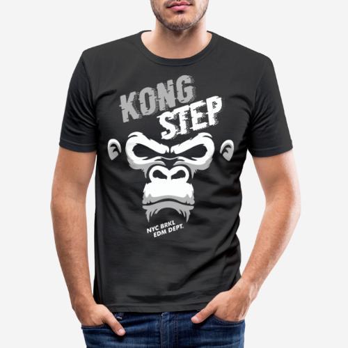 dubstep dub step music edm - Männer Slim Fit T-Shirt