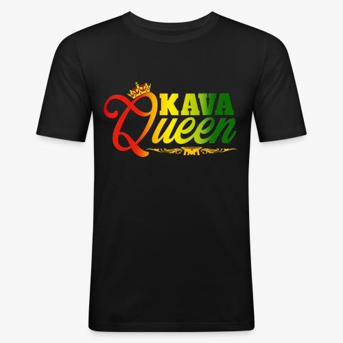 Kava Queen - Men's Slim Fit T-Shirt