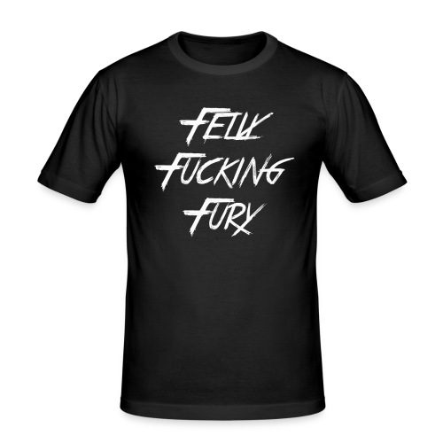 fff gif - Männer Slim Fit T-Shirt