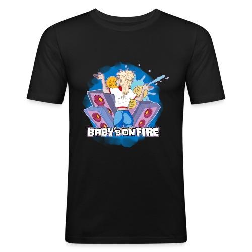 Baby's on fire - Camiseta ajustada hombre
