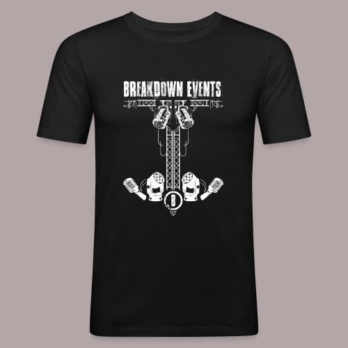 Breakdown Anker Motiv - Männer Slim Fit T-Shirt