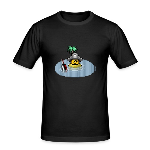 Pirateninsel - Männer Slim Fit T-Shirt