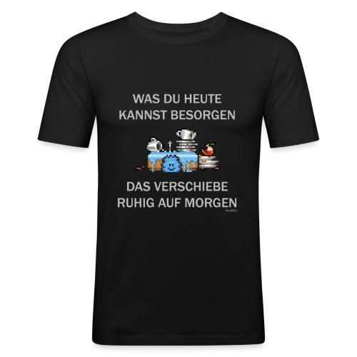 Abwasch - Männer Slim Fit T-Shirt
