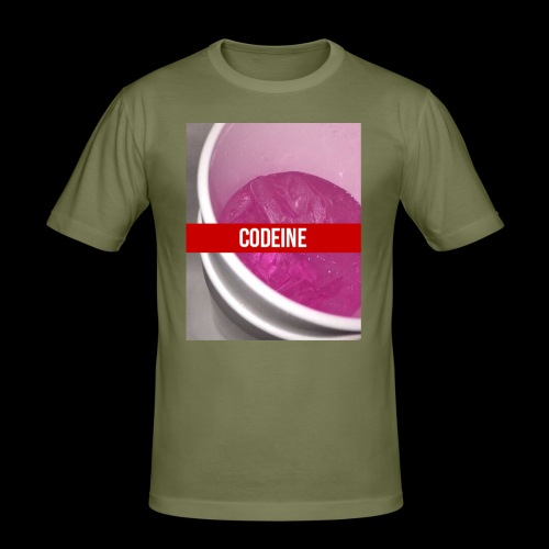 CODEINE STREETWEAR - Maglietta aderente da uomo