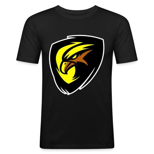 Plopp T-Shirt Svart - Slim Fit T-shirt herr